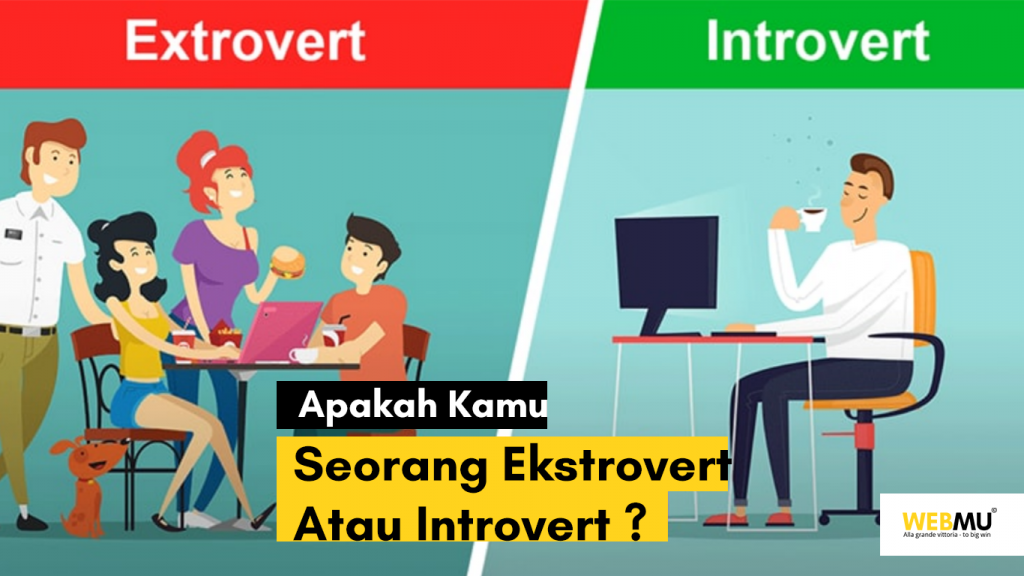 Ekstrovert vs introvert